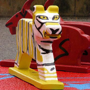 Attention! Tigres, chèvres, serpents et autres chevaux dans les rues de Lausanne!
