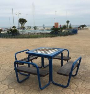 Jeu d'échecs, Málaga, Espagne